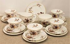 Royal Worcester 19 Piece Tea Set - Autumn Gold Design - Thames Hospice