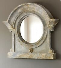 Park Hill Collection Mansard Mirror Farmhouse Parkhill French Antique White