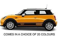 Mini Cooper S One, Side Car Stripes Vinyl Graphics Decal Sticker Motor Transfer