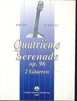 Anton Diabelli : Quartième Serenade op. 96 für 2 Gitarren