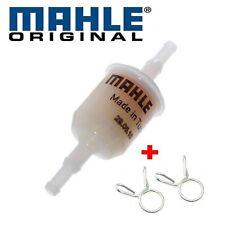 Kraftstofffilter KL13 OF 6-8 mm + 2 Klemmen 9mm für Benzinschlauch