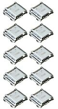 "10 x USB Charging Charger Port Dock for Samsung Galaxy Tab 4 7.0 7.0"" Tablet"