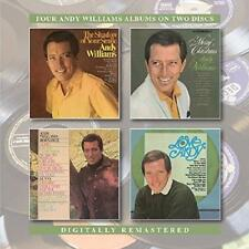 Andy Williams - The Shadow Of Your Smile/Merry Christmas/Born Free/Lov (NEW 2CD)
