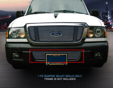For 2004-2005 Ford Ranger Bolt-On Billet Grille Grill Bumper Insert 1 PC Fedar