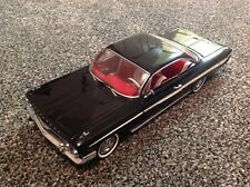Cheverolet Impala 1961-Negro Sun Star 1:18 escala sobrenatural estilo DIE-CAST