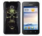 TPU Schutzhüllle f Huawei Ascend Y330 Tasche Case Cover Etui Totenkopf Zombie