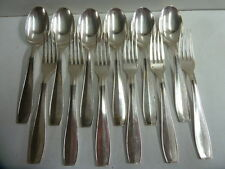 CHRISTOFLE ATLAS TABLE SET FOR 6 PERSONS - brillant luster