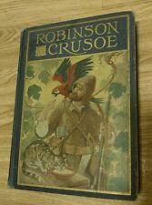 Robinson Crusoe by Daniel Defoe (1928, Windermere Series)