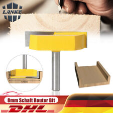8mm Schaft Oberfräse Finger Joint Kleber Routerbit Für Holzbearbeitung Fräser DE