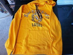 harry potter hufflepuff sweater yellow just loyal size medium