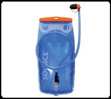Trinkblase Source Widepac 2 Liter,  transparent-blau, für Rucksäcke und Taschen