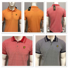 MEN'S BRAND NEW LYLE AND SCOTT SHORT SLEEVE OXFORD POLO SHIRT