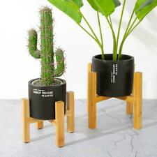 Wooden Plant Stand Indoor Outdoor Patio Garden Planter Flower Pot Stand Holder