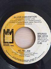 SILVER CONVENTION NO NO JOE MIDLAND INTERNATIONAL RECORDS 10723