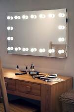 Diamond X Wallmount Hollywood Makeup Mirror with Daylight Dimmable LED k413CW