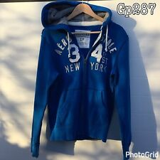 Aeropostale Mens Hoodie New York S Small Blue
