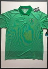 Nike Oregon Ducks Champ Drive Story Polo Green Mens Size XL