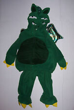 OLD NAVY GREEN DRAGON COSTUME 12 18 24 mo 2 pc Warm Fleece Halloween