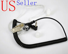 Medium Duty Listen Only FBI Earpiece Earphone for MOTOROLA Speaker MIC Radio