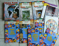Holt People.Places&Change Geography/History HUGE LOT Text &12 workbooks NEW 2001