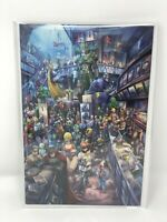 Crossover 1 Alan Quah Virgin Variant Limited 160 / 400 w/ COA Image Comics