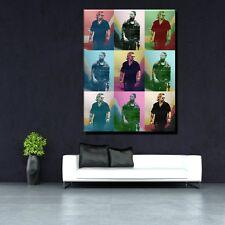 LEINWAND BILD XL POP ART MIAMI VICE COLIN FARRELL JAMIE FOXX ANDY WARHOL -90x120