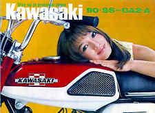 KAWASAKI Brochure GA2 GA2-A GA-2A 1971 1972 1973 Sales Catalog ORIG OEM