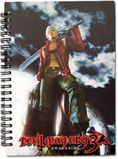 *NEW* DEVIL MAY CRY 3 DANTE KEY ART NOTEBOOK
