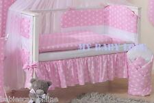 6 pcs bébé Ensemble de literie/PARE-CHOCS FIT pour lit bébé 140x70cm/pilowcase/Housse Couette