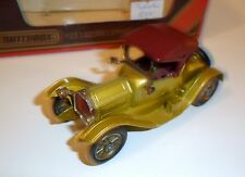 Cadillac (1913) in greenish gold metallic, Matchbox Yesteryear Nr. Y 6 in 1:43!