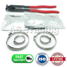 CAR ATV FITS 99% OF VEHICLES CV BOOT CLAMPS X2 GREASE X2 & EAR PLIERS