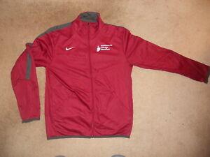 NIKE Chicago Marathon Jacket Unisex RARE Maroon Classic Race Start Training Now