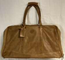 Vintage Colombian Bags Company Carry On Luggage Bag Genuine Leather