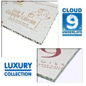 Cloud 9 carpet underlay Caviar & Crystal 11mm & 9mm + Connoisseur 8 & 10mm