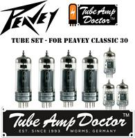 Tube Set - for Peavey Classic 30 COMBO Tube Amp Doctor vacuum valve tubes