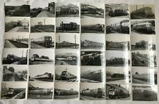 More details for lot of 89 photographs of various uk diesel locomotives and rail cars