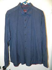 """EXCLUSIVE """"TOMMY BAHAMA"""" Men's Sz L Silk Blend button front shirt Excellent Con"""