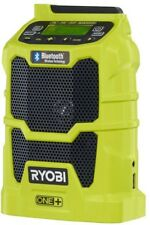 Ryobi Compact Radio 18V FM AM Aux Bluetooth Wireless Technology Tool-Only
