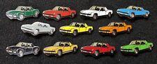 Porsche Pin Set 914 VW-Porsche 11 verschiedene Farben emailliert