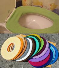 Bathroom Toilet Seat Warmer Cover  Washable - Lime Green - LifeLong Needs