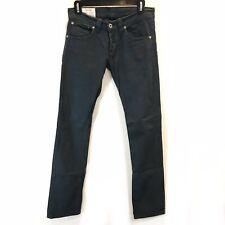 Dondup Italian Gray Stretchy Jeans Size 26 Straight Leg