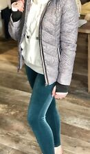 NWT Spanx Velvet Leggings Malachite Size M