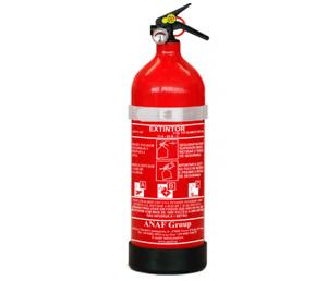 Extintor Polvo ABC de 2 kg . ANAF