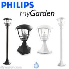 Philips Massive mi jardín Creek Pilar Post Pedestal Bolardo Color Negro Blanco