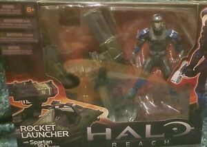 Halo Warthog Rocket Turret & Spartan JFO - Mcfarlane Toys