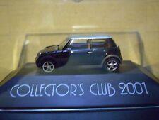 2001 Herpa Collectors Club Mini Cooper 1/87  PC
