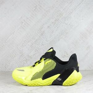 Junior Adidas 4Uture Rnr J Cblack/Shoyel/Shoyel Trainers (75C11) RRP £42.99