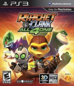 Ratchet And Clank: All 4 One  - Sony Playstation 3 Game