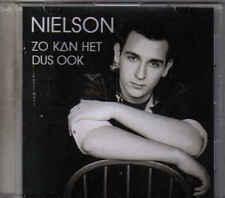 Nielson-Zo Kan Het Dus Ook Propm o cd single
