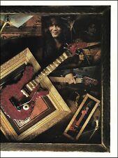 Eddie Van Halen Signature Ernie Ball Music Man Guitar 8 x 11 pin-up photo print